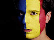 Flag of Romania Stock Photos