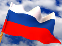 Flag. Russia Royalty Free Stock Photos