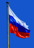 Flag of Russia. Close Up Royalty Free Stock Photography