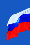 Flag of Russia. Close Up Royalty Free Stock Images