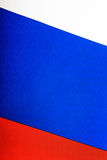 Flag of Russia. Three-colored flag of the Russian Federation royalty free stock photo