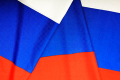 Flag of Russia. Three-colored flag of the Russian Federation royalty free stock photos