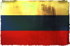 Flag of russian Royalty Free Stock Photography