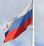 Flag of the Russian federation Royalty Free Stock Photo