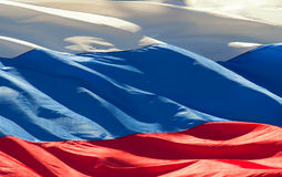 Flag of the Russian Royalty Free Stock Photography
