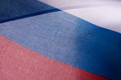 Flag of Russian federation. Background stock image
