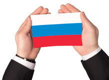 Flag of the Russian Federation Stock Photos
