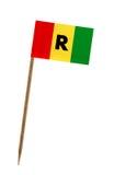 Flag of Rwanda Stock Photography