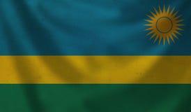 Flag of Rwanda. Stock Image