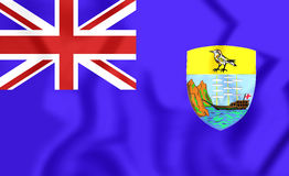Flag of Saint Helena Stock Photos