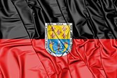 Flag of San Jose de Cucuta, Colombia. 3D Illustration. Royalty Free Stock Images