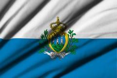Flag of San Marino Royalty Free Stock Photo