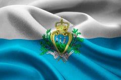 Flag of San Marino Royalty Free Stock Image