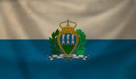 Flag of San Marino. Stock Image