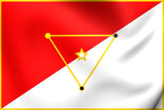 Flag of San Miguelito District Stock Photo