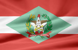 Flag of Santa Catarina Royalty Free Stock Photo