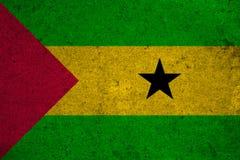 Flag Sao Tome and Principe Stock Photos
