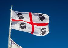Flag Sardinia Royalty Free Stock Images
