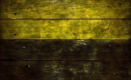 Flag of saxony-anhalt. On old wooden planks Stock Image