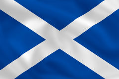 Flag of Scotland Royalty Free Stock Photography