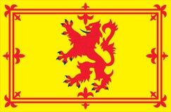 Flag of Scotland. The Scottish Flag vector illustration Stock Photography