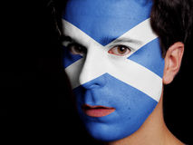 Flag of Scotland Royalty Free Stock Photos