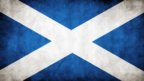 flag of Scotland Royalty Free Stock Images