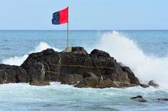 Flag and Sea Stock Photos