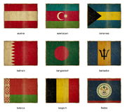 Flag set 2 Royalty Free Stock Image