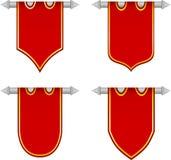 Flag shields Royalty Free Stock Photo