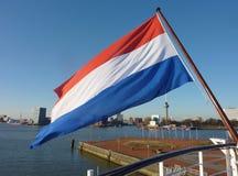 Flag on a ship Stock Photography