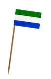 Flag of Sierra Leone Stock Images