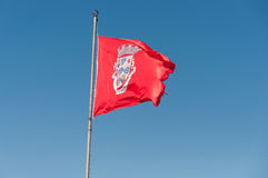 Flag of Silves Stock Image