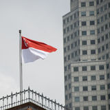 Flag of singapore Royalty Free Stock Photography