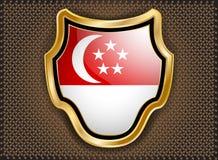 Flag of Singapore Stock Image