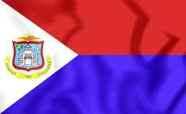 Flag of Sint Maarten Royalty Free Stock Photography