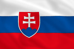Flag of Slovakia Royalty Free Stock Image