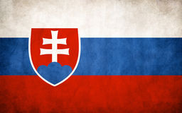 Flag Of Slovakia Royalty Free Stock Photography