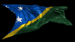 Flag of Solomon Islands Stock Images