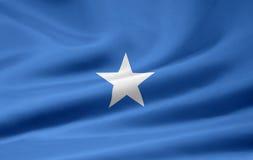 Flag of Somalia. Very large version of a somali flag Stock Images
