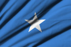 Flag of Somalia Royalty Free Stock Images