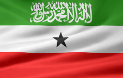 Flag of Somaliland Stock Photo