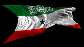 Flag of Somaliland Royalty Free Stock Photo