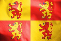 Flag of Sons of Glyndwr. Stock Photos