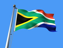 Flag of south africa Stock Images