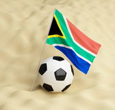 Flag south africa Stock Images