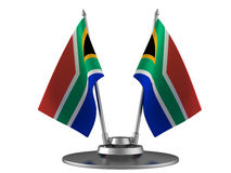 The flag South Africa royalty free illustration
