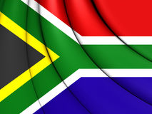 Flag of the South Africa Stock Photography