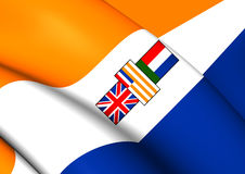 Flag of South Africa 1928-1994 Royalty Free Stock Images