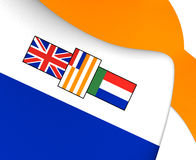 Flag of South Africa 1928-1994 Stock Image